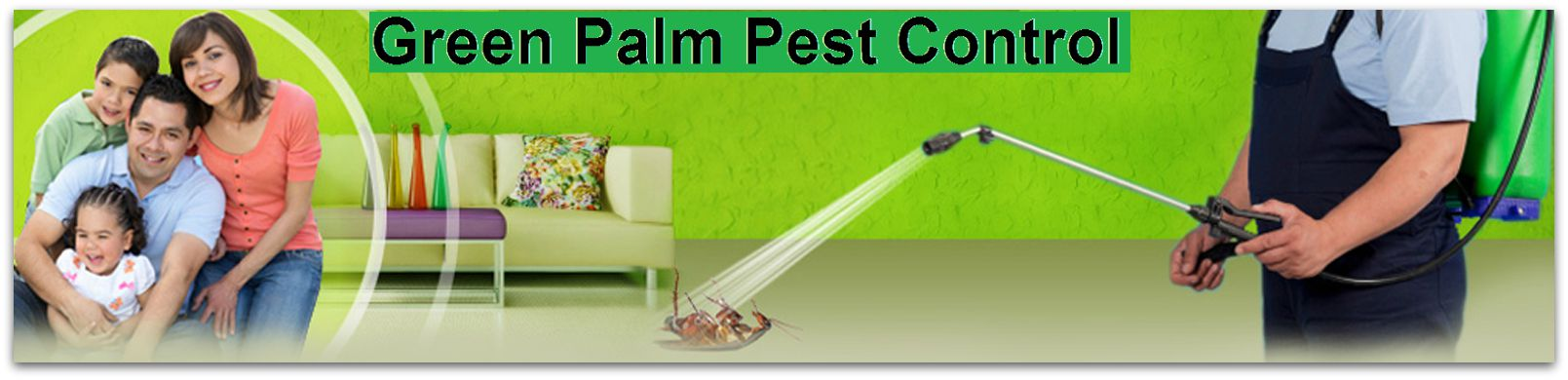 Green Palm Pest Control Staff
